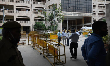 The incident took place at Rohini district court in New Delhi on Friday.