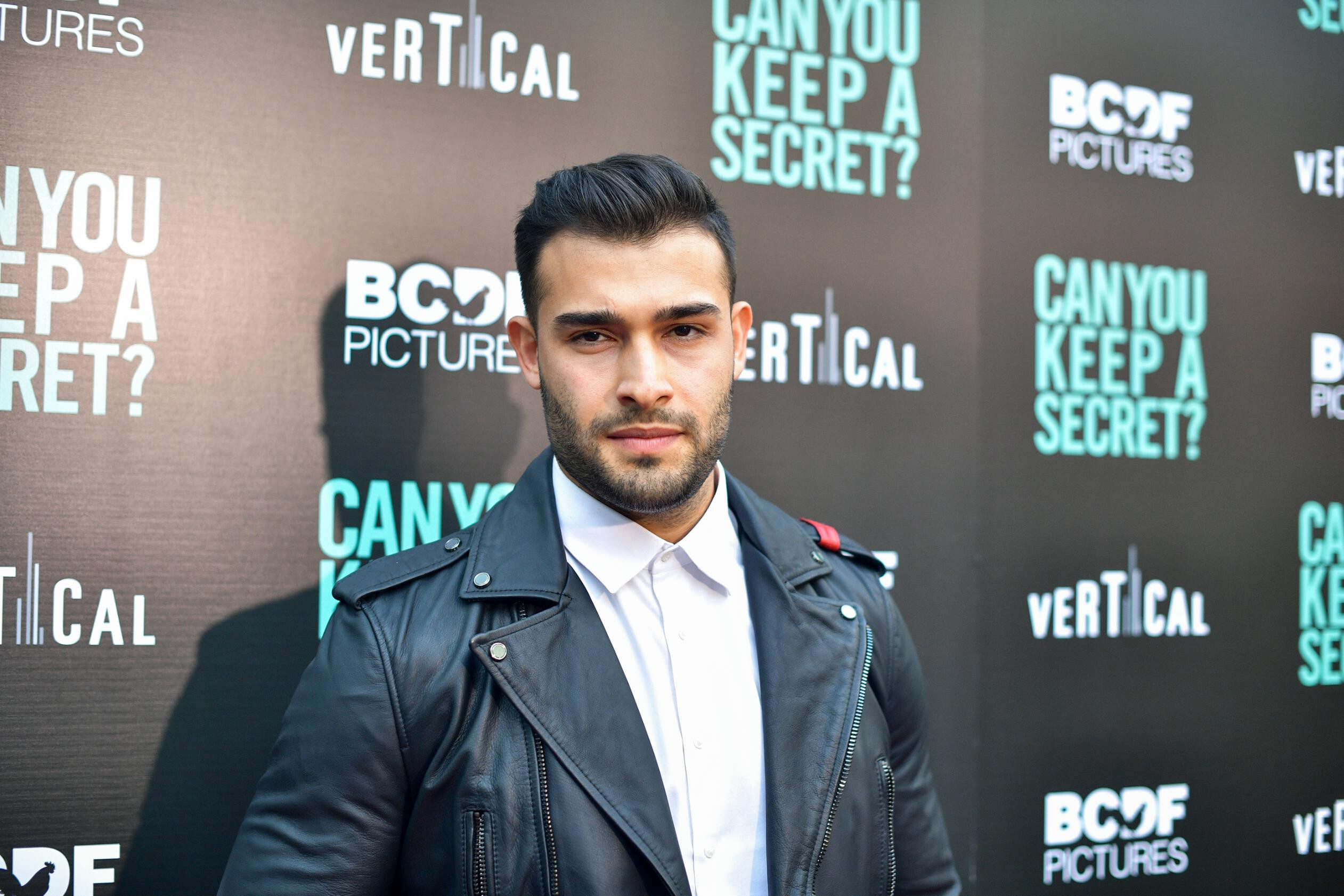<i>Matt Winkelmeyer/Getty Images</i><br/>Sam Asghari and Britney Spears are now engaged.