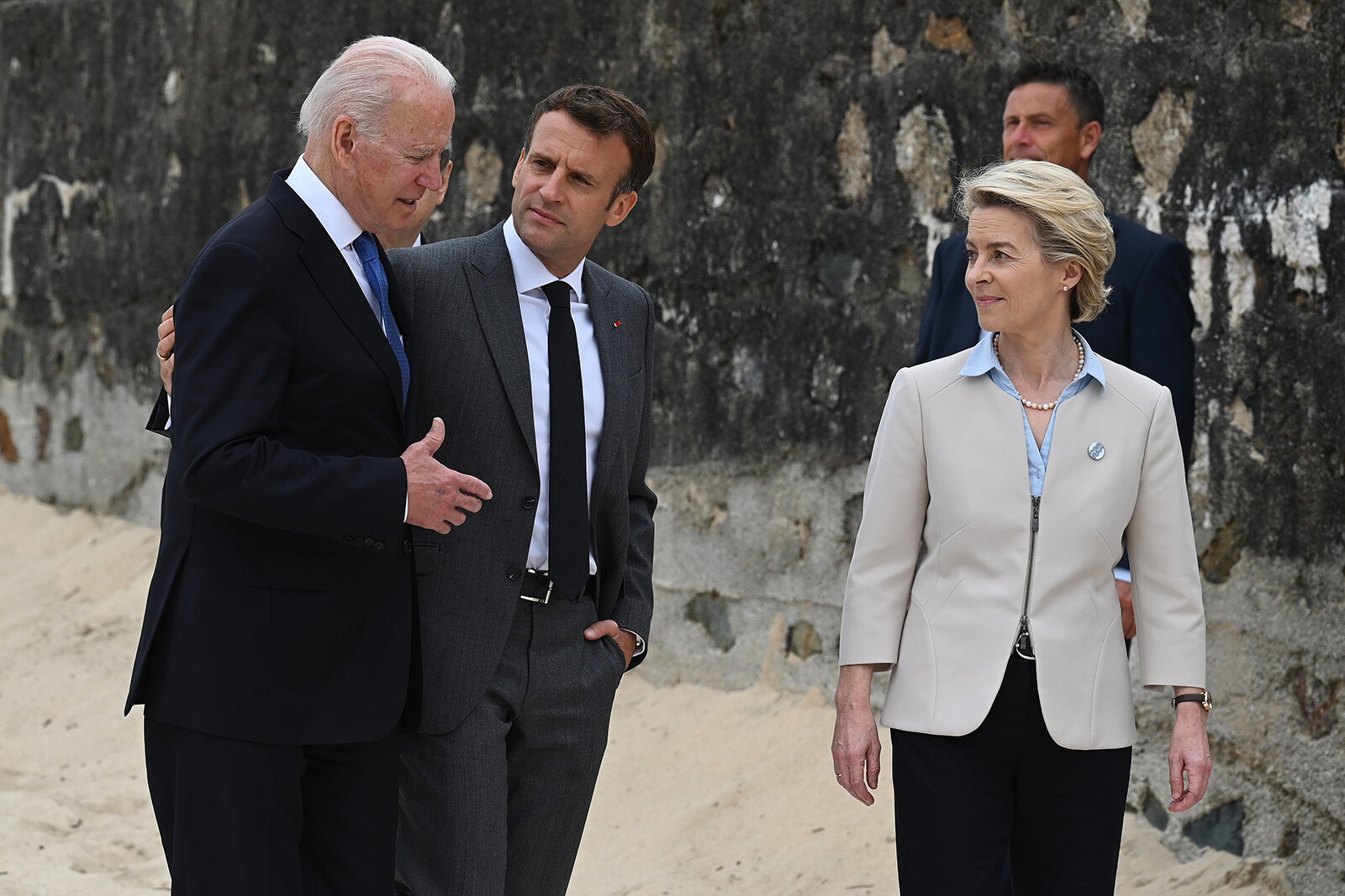 <i>Leon Neal/Getty Images</i><br/>When French officials erupted in anger after being left out of a US-led security pact with Australia and the UK