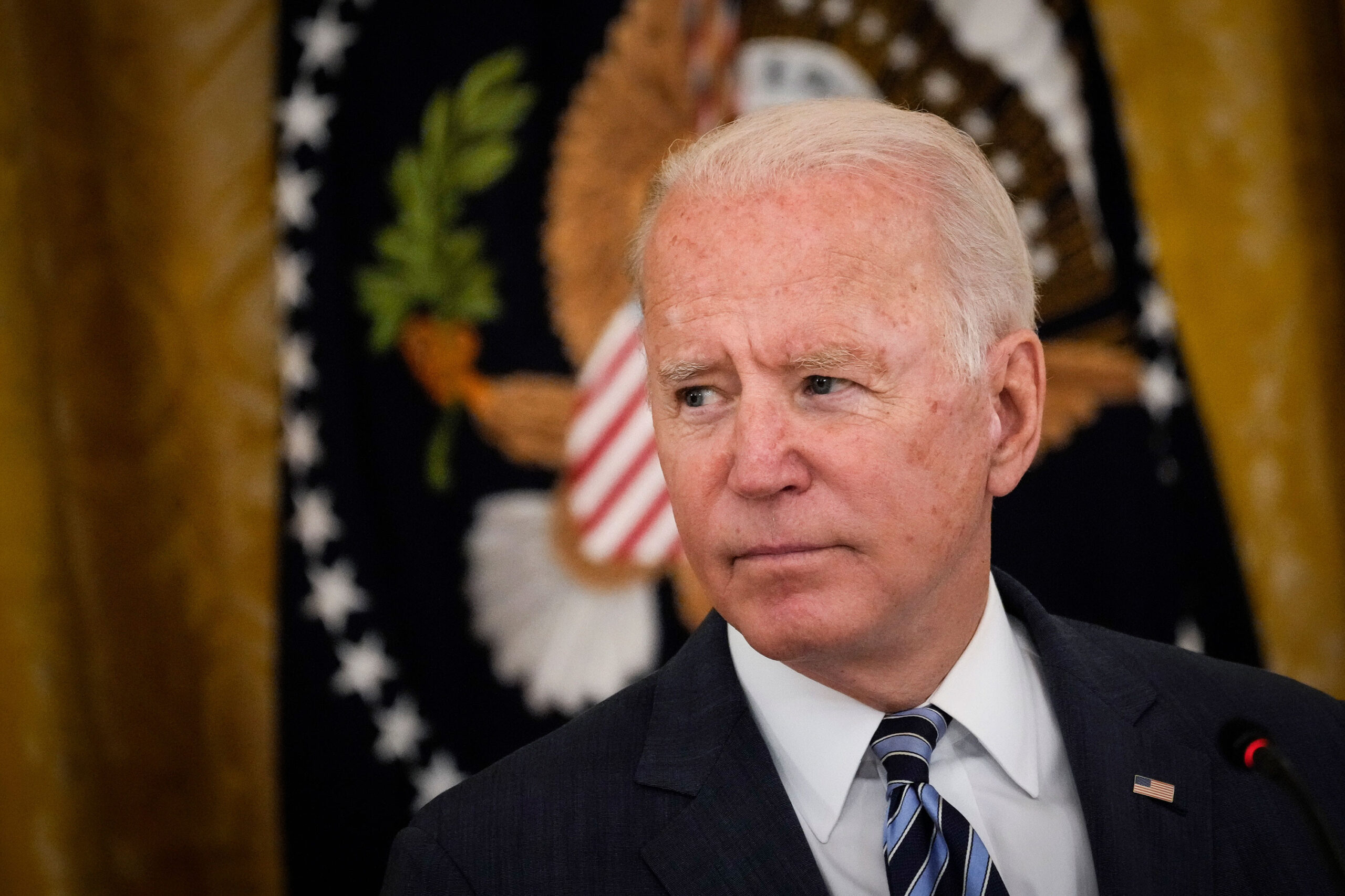 <i>Drew Angerer/Getty Images</i><br/>Democrats are speaking out against how the Biden administration is handling the situation at the border.