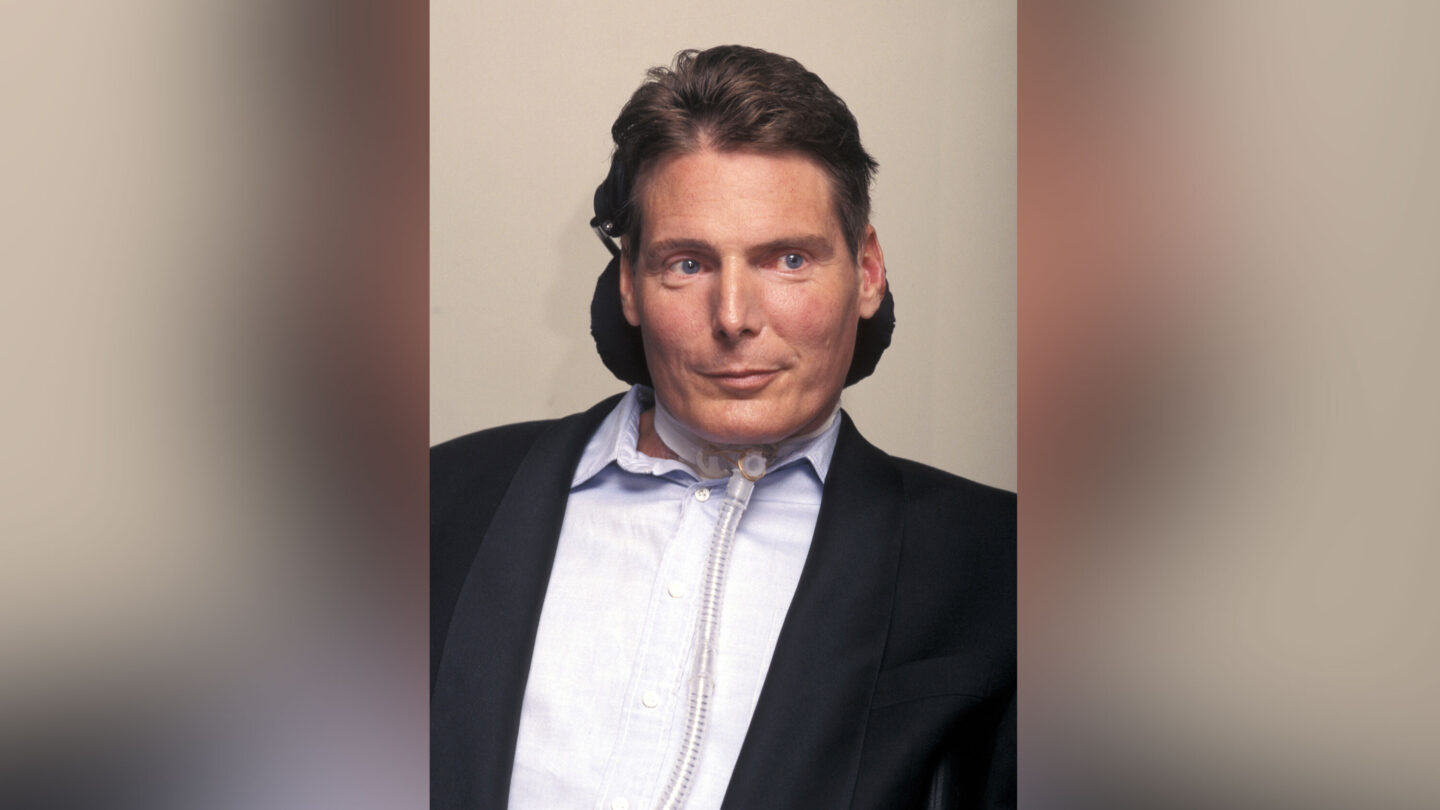 <i>Ron Galella/Getty Images</i><br/>Google Doodle honors Christopher Reeve
