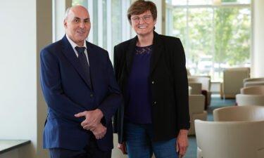 Dr. Drew Weissman and Katalin Karikó of the University of Pennsylvania