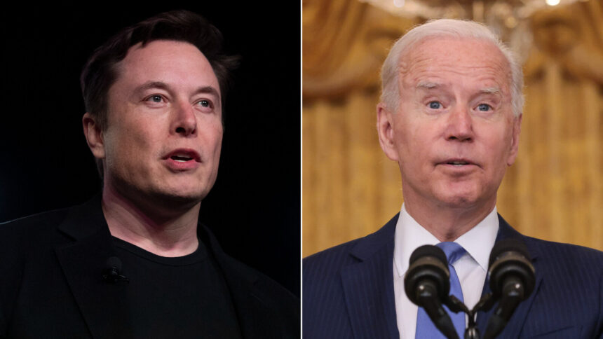 Elon Musk takes shots at Joe Biden after SpaceX sends civilians to space - KRDO