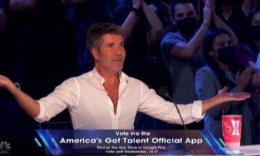 """America's Got Talent"" judge Simon Cowell"