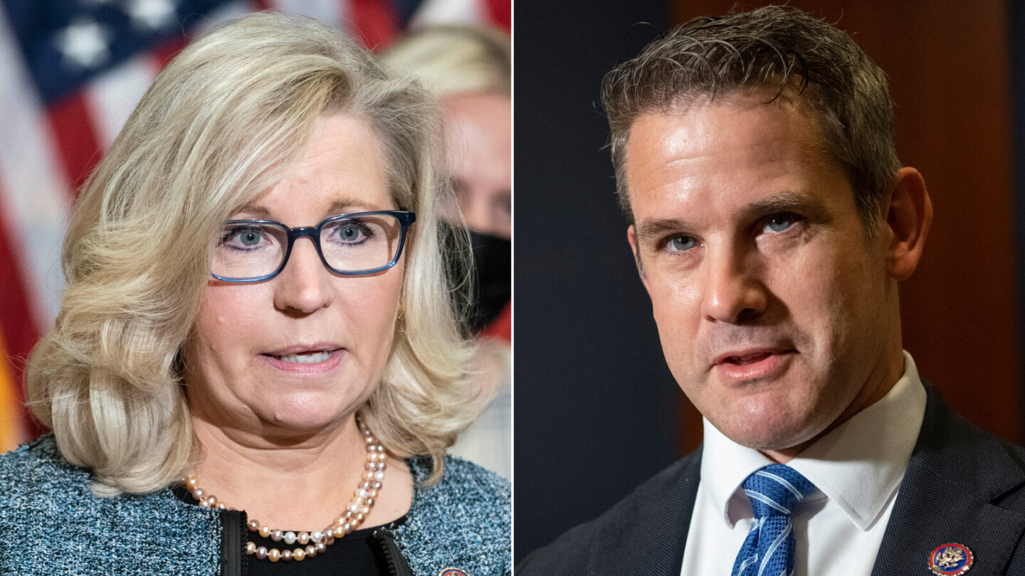 <i>Getty Images</i><br/>Reps Liz Cheney and Adam Kinzinger are looking to defend their seats.