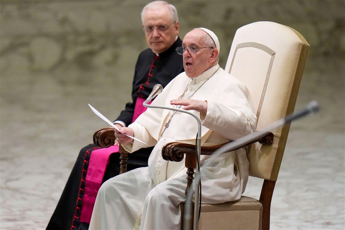 <i>Alessandra Tarantino/AP</i><br/>President Joe Biden and first lady Jill Biden will meet with Pope Francis