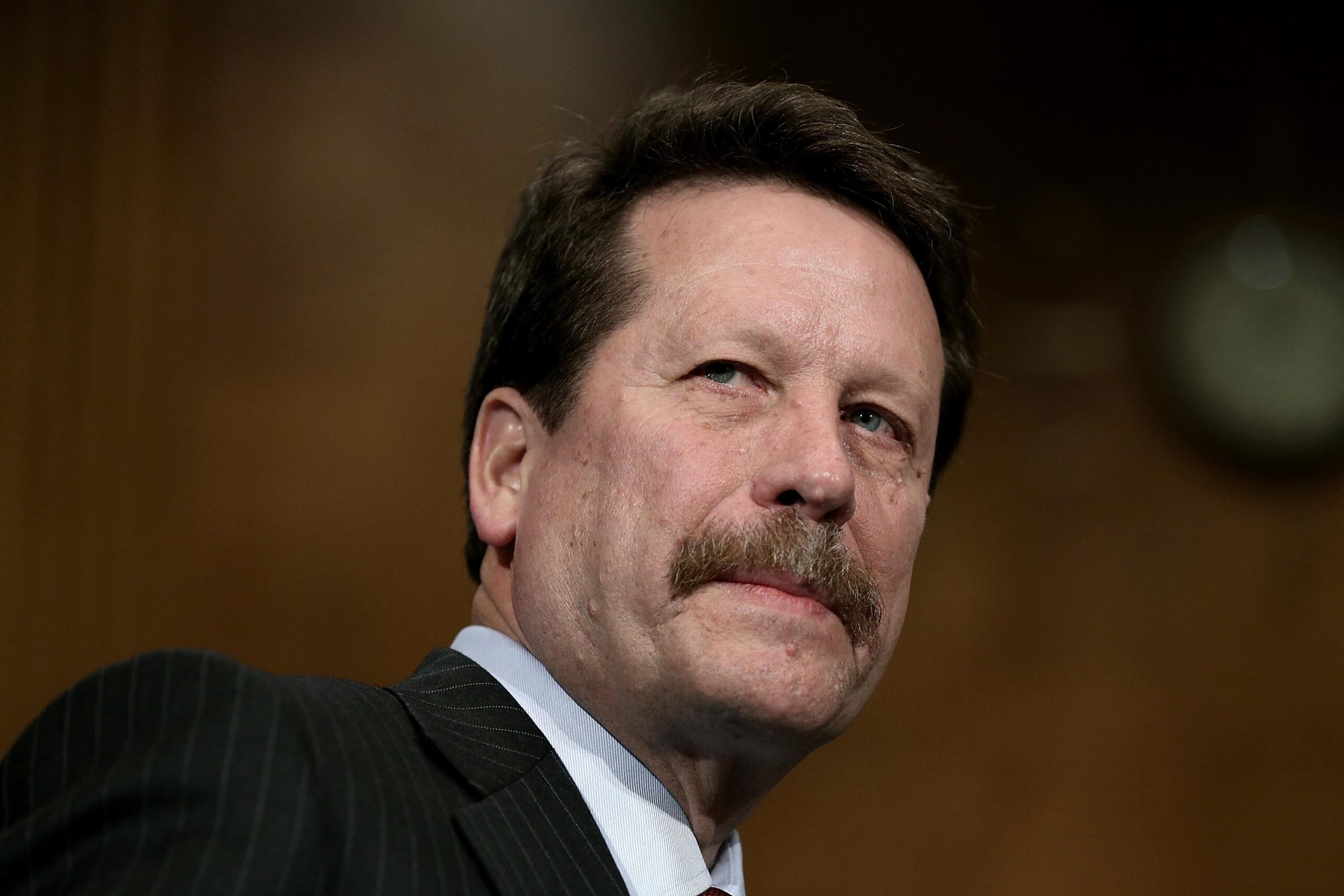 <i>Win McNamee/Getty Images</i><br/>The White House is in the process of vetting former Food and Drug Administration Commissioner Rob Califf to become the agency's leader once again. Califf is shown here on November 17