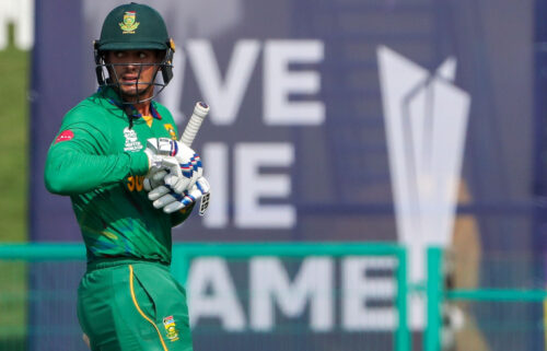 """South African cricketer Quinton de Kock has made the """"personal decision"""" not to take a knee before games at the ongoing T20 World Cup."""