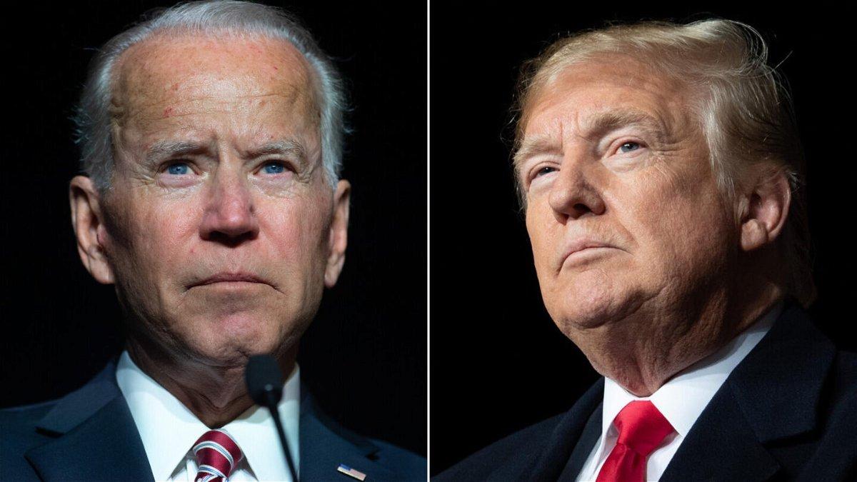 <i>Getty Images</i><br/>President Joe Biden (left) and former President Donald Trump