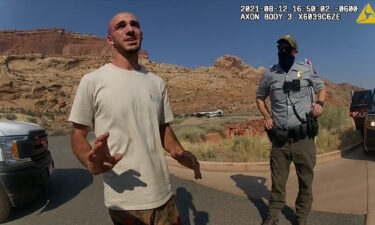 Body camera footage from the Moab Police Department shows them talking with Brian Laundrie on August 12