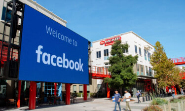 The past few months have been turbulent for Facebook following leaked internal research and documents. Pictured is the company's corporate headquarters campus in Menlo Park